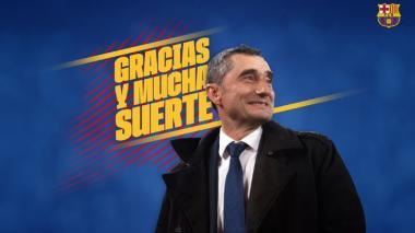 Barcelona y Ernesto Valverde sellan un divorcio anunciado