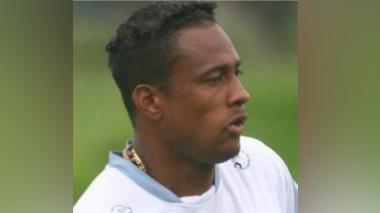 Luis Yánez, exjugador del Junior de Barranquilla.