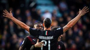 """""""Celebro como Dios cuando marco"""": Zlatan Ibrahimovic"""