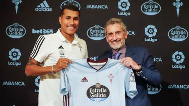 El colombiano Jeison Murillo es nuevo jugador del Celta de Vigo
