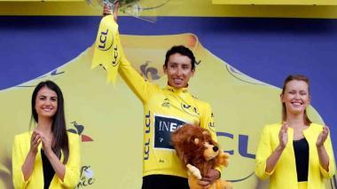 El ciclista colombiano Egan Bernal, nominado a los Premios Laureus