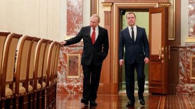 Remezón en Gobierno ruso tras anuncios de reformas