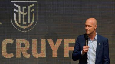 Jordi Cruyff, nuevo DT de Ecuador, considera una ventaja jugar en la altura