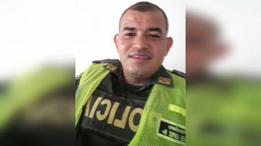 Celso José López Rojano, patrullero capturado por el Gaula en Maicao.