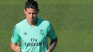 James Rodríguez, fuera de la convocatoria del Real Madrid ante Sevilla