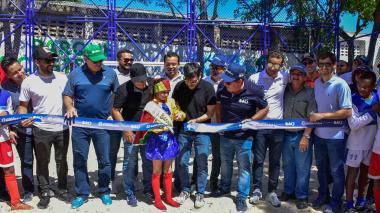 Alcalde Pumarejo entrega dos nuevos parques para la comunidad barranquillera