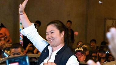 Justicia peruana decide el martes si encarcela de nuevo a Keiko Fujimori