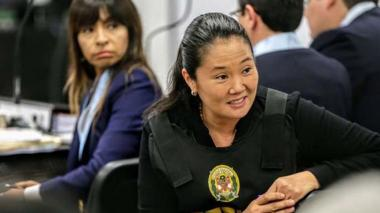 "Keiko Fujimori asegura que ""no existe peligro"" de que huya de Perú"