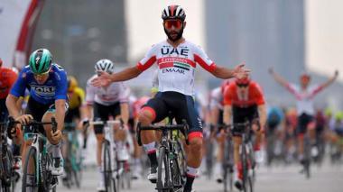 Fernando Gaviria conquista segunda etapa de la Vuelta a San Juan