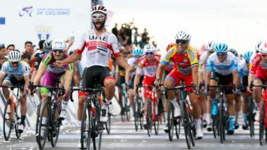 El Colombiano Fernando Gaviria conquista segunda etapa de la Vuelta a San Juan