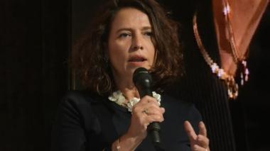 Nancy Patricia Gutiérrez, ministra del Interior, se refirió al Acuerdo con las Farc.