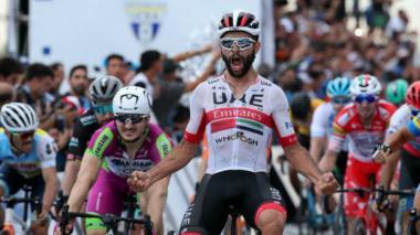Nueva victoria del colombiano Gaviria en la Vuelta a San Juan