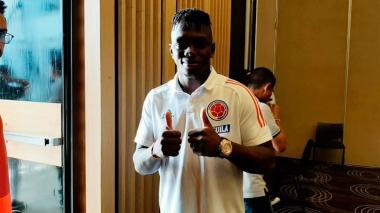 """""""Estamos con el ánimo al cien y listos para afrontar a Chile"""": Edwuin Cetré"""