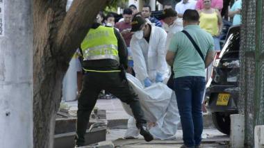Asesinado en Las Delicias estaba en un taller, pero de armas