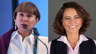 Alicia Arango y Nancy Patricia Gutiérrez.