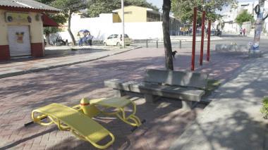Distrito trabaja en recuperar 4.941 m2 de espacio público