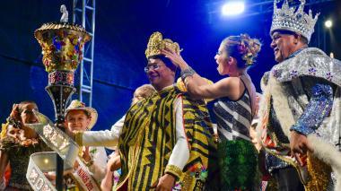 Coronación del Rey Momo celebra el legado del Carnaval