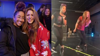 En video | Liz Dany, la joven que le enseñó a bailar champeta a Shakira