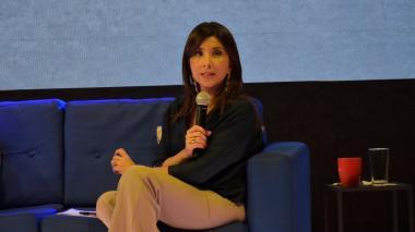 María Victoria Angulo González, ministra de Educación.