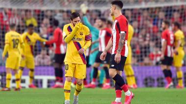Athletic de Bilbao vence 1-0 al Barcelona y se mete en semifinales de Copa del Rey