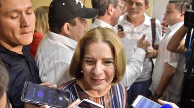 Margarita Cabello, ministra de justicia.