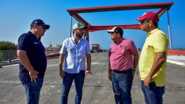 Pumarejo supervisa avance de siete obras claves en el Distrito