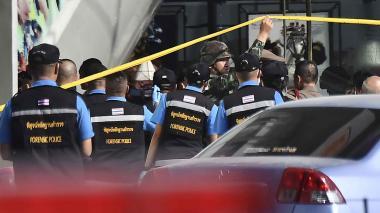 Policía mata al autor de la matanza de Tailandia