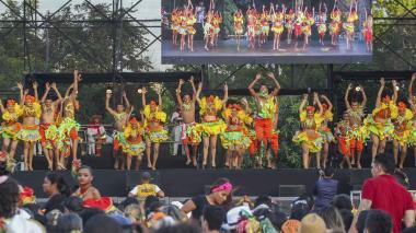 El folclore fue el gran protagonista este fin de semana en la Plaza de la Paz.