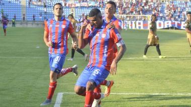 Narváez le dio el triunfo al Unión