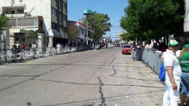 Desde las 3 de la tarde comenzaron los cierres viales por desfile de Guacherna