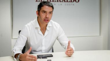 José Andrés O´Meara, director general de la Agencia Nacional de Contratación Pública Colombia Compra Eficiente, durante su visita a EL HERALDO.