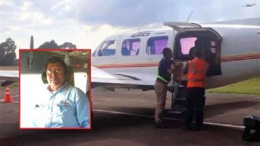 """""""Estaba nervioso por volar en un avión al que él no le había hecho mantenimiento"""""""
