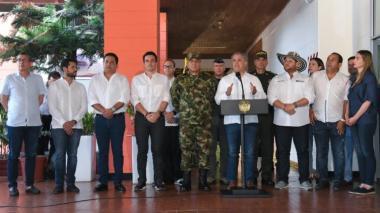 """En video   """"Colombia está unida para enfrentar al Eln"""": Duque"""