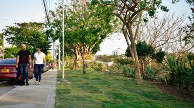 Reverdece el Mirador de Los Nogales en Barranquilla