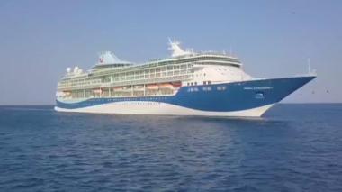 En video | 2.546 cruceristas visitan Santa Marta