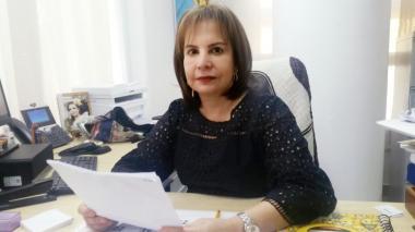 Helda Marino Mendoza, jefe de la Oficina de la Mujer, Equidad y Género del Distrito.
