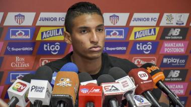 Gabriel Fuente en sus declaraciones a la prensa.