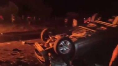 En video | Explosión de un vehículo en Cauca deja, al menos, siete muertos