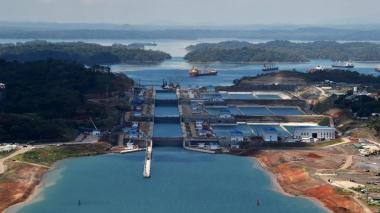 Imágen del Canal de Panamá.