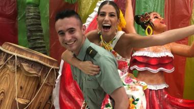 Juan Felipe, el edecán real del Carnaval