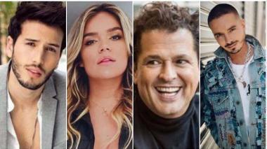 Colombianos dijeron presente en los Premios Lo Nuestro 2020