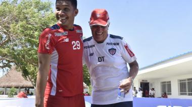 Teófilo Gutiérrez y Julio Avelino Comesaña.