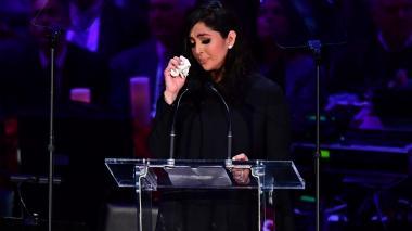 """""""Fue mi todo"""", dijo Vanessa Bryant al recordar a su esposo Kobe"""