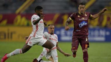 Tolima y el Inter empataron sin goles en Ibagué.