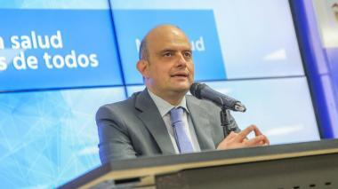Iván Darío González, ministro de Salud (e)