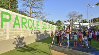 Habitantes de Las Américas estrenan desde este jueves nuevo parque