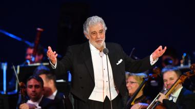El tenor Plácido Domingo fue acusado de tocamientos por una veintena de mujeres.