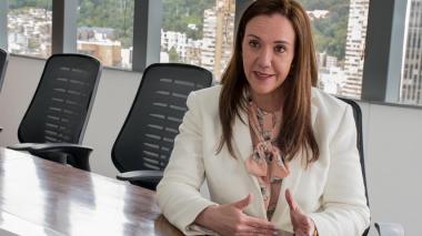 La gerente de Enterritorio, María Elia Abichaibe.