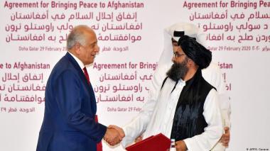 Histórico acuerdo de paz entre EEUU y los talibanes