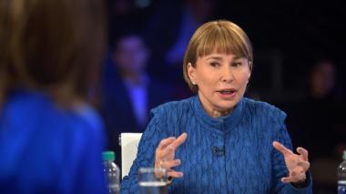 Cecilia Arango, ministra del Interior.